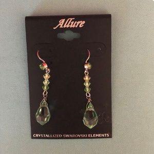 Crystalline Swarovski crystal earrings